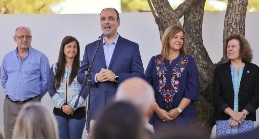 Corral inauguró el nuevo Jardín Municipal de La Guardia