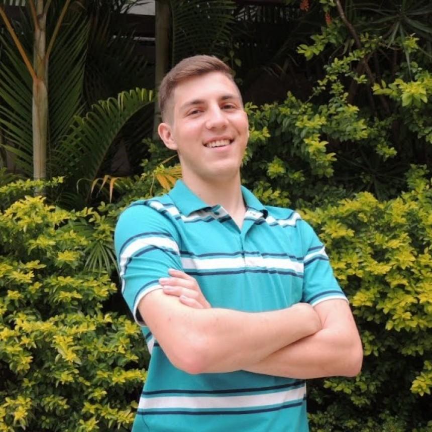 Un joven santafesino participó en Chile de un campamento científico internacional