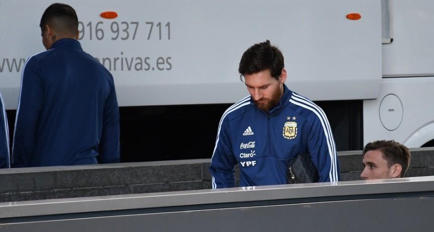 Messi tampoco estará en el duelo ante España