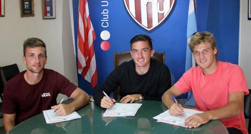 Los hermanos Pittón y De Iriondo renovaron contrato hasta 2020