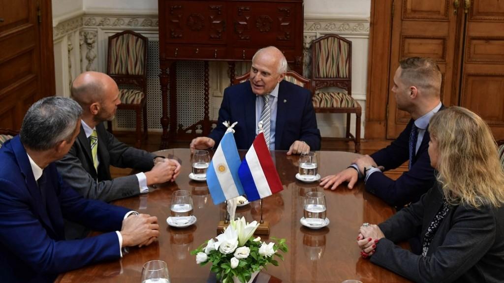 Lifschitz recibió en Rosario al embajador del Reino de los Países Bajos