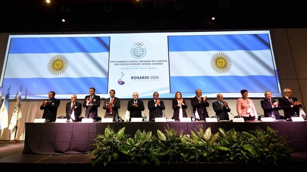 Lifschitz participó de la asamblea de Odesur de cara a los Juegos Suramericanos de Playa