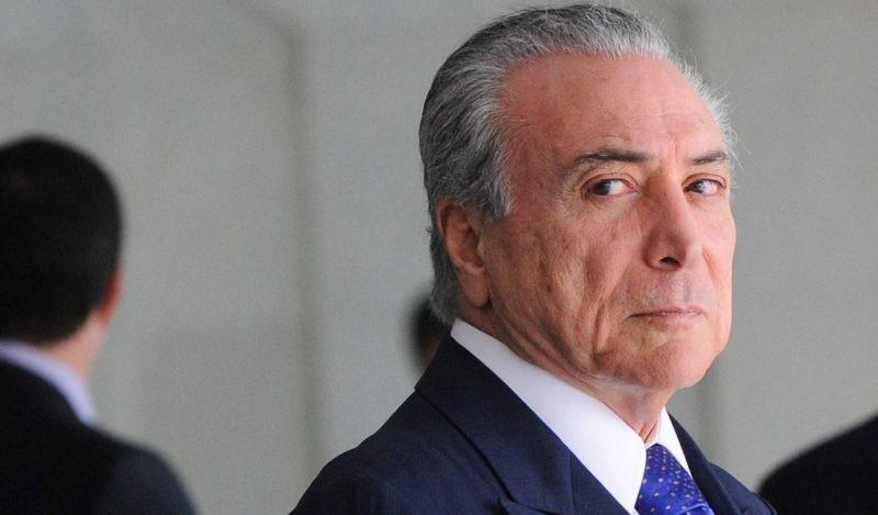 Detuvieron al expresidente de Brasil Michel Temer