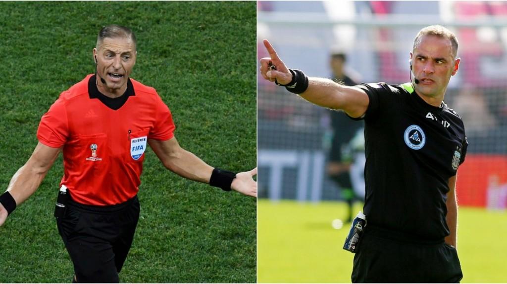 Néstor Pitana y Diego Abal, los árbitros para la definición del campeonato