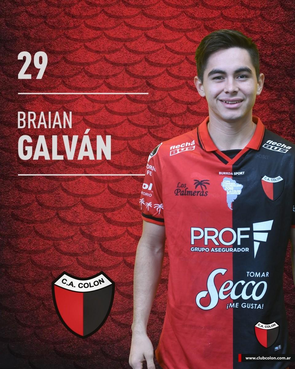 Se confirmó la lesión de Braian Galván