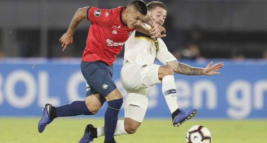 Boca empató en la altura de La Paz con Jorge Wilstermann