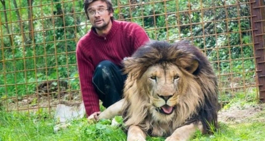 Un hombre murió devorado por un león que tenía de mascota