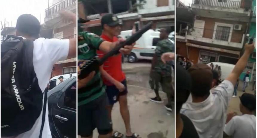 Con una ráfaga de tiros al aire, despidieron al adolescente que murió en un asalto