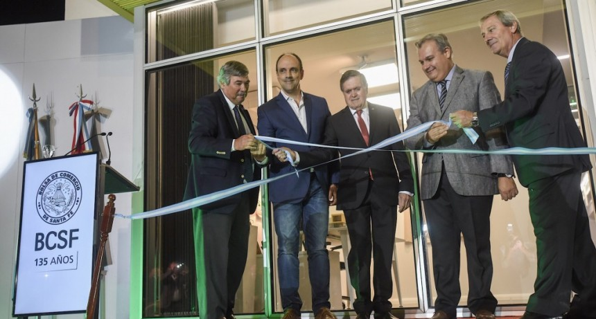 La Bolsa de Comercio de Santa Fe celebró su aniversario 135