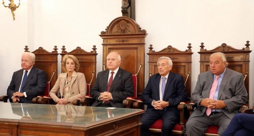Lifschitz participó de la ceremonia de apertura del año judicial