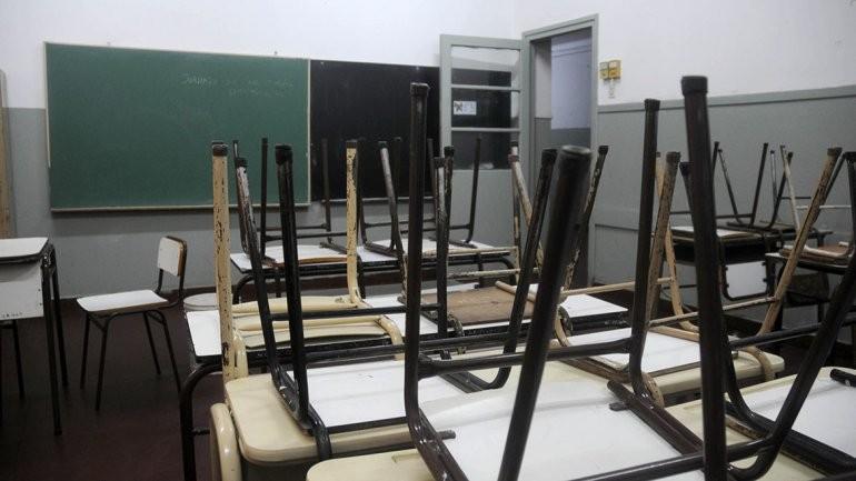 Por el paro, las clases recién arrancarán el miércoles