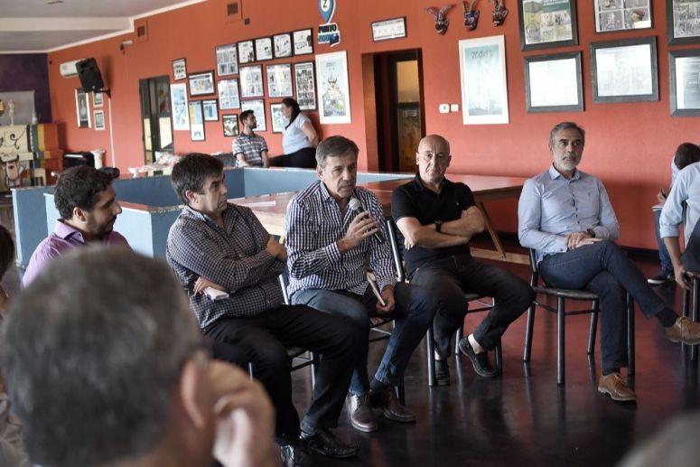 Jatón se reunió con referentes de las empresas y directivos del Parque Tecnológico