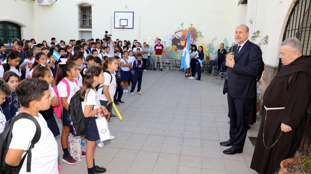 """Perotti: """"Vamos a abrir la inscripción el próximo lunes del Boleto Educativo"""""""