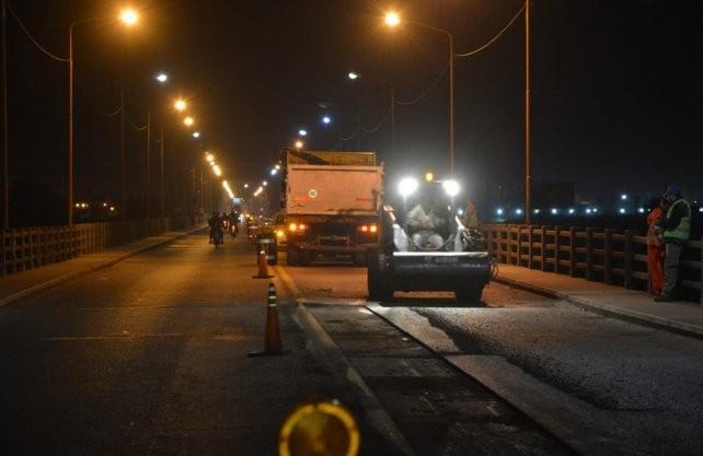 Puente Carretero: vuelven los trabajos nocturnos