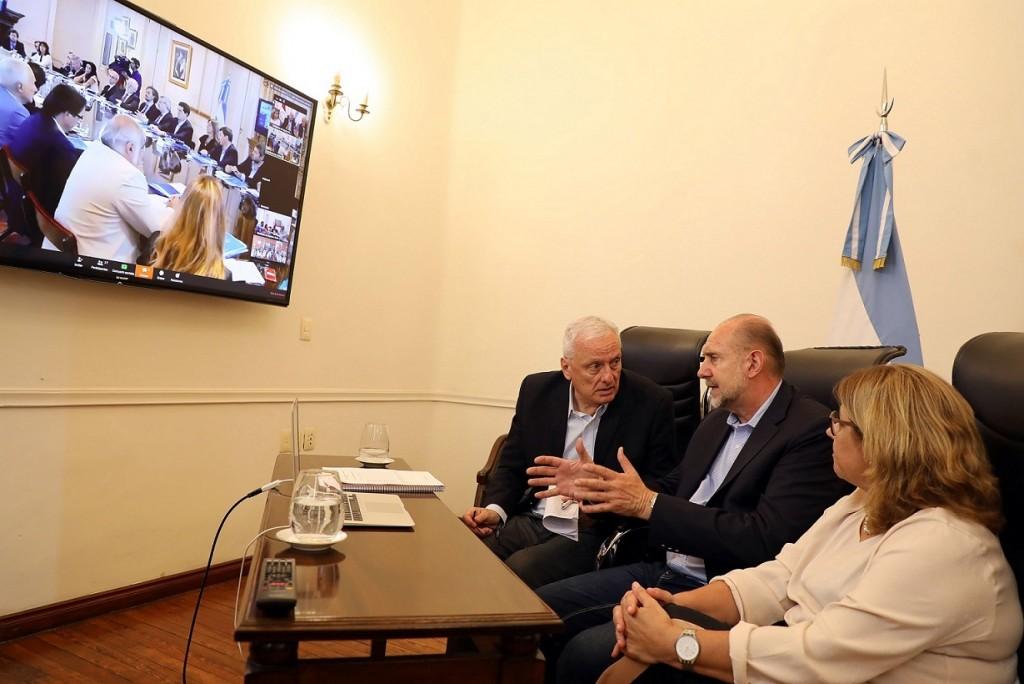 Perotti participó de la reunión del comité interministerial nacional de seguimiento del Covid – 19