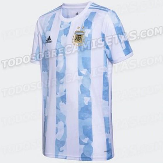 Se filtró el diseño de la camiseta de la Selección para las Eliminatorias y Copa América 2021