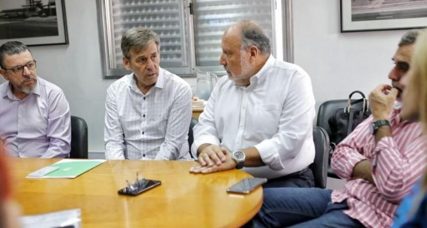 Jatón se reunió con autoridades de la Universidad Tecnológica Nacional