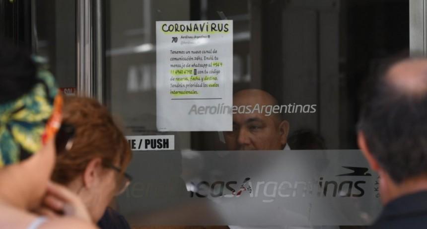 Coronavirus: Aerolíneas Argentinas va a repatriar a los argentinos que se encuentran varados en el extranjero