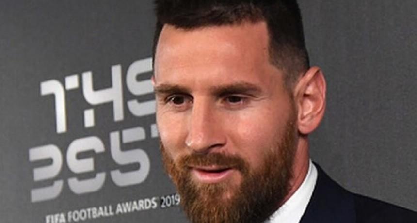 Messi donó un millón de euros para combatir el coronavirus