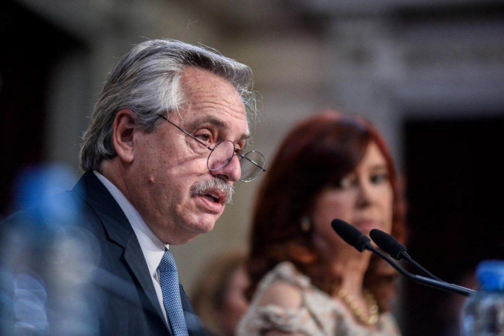 Ni un solo día bajamos los brazos, dijo Alberto Fernández