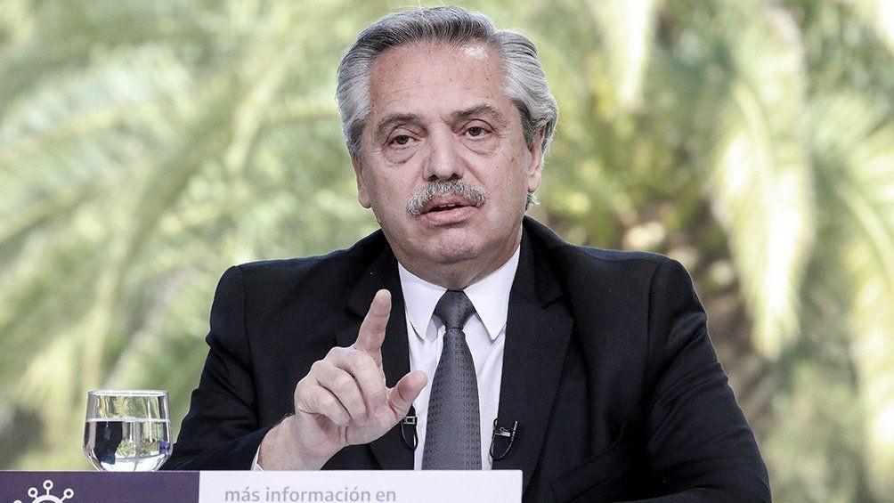Alberto Fernández prorrogó la emergencia sanitaria