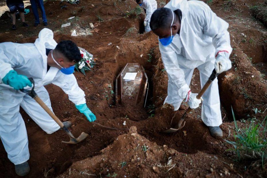 Brasil bate su récord de muertes en un día por coronavirus