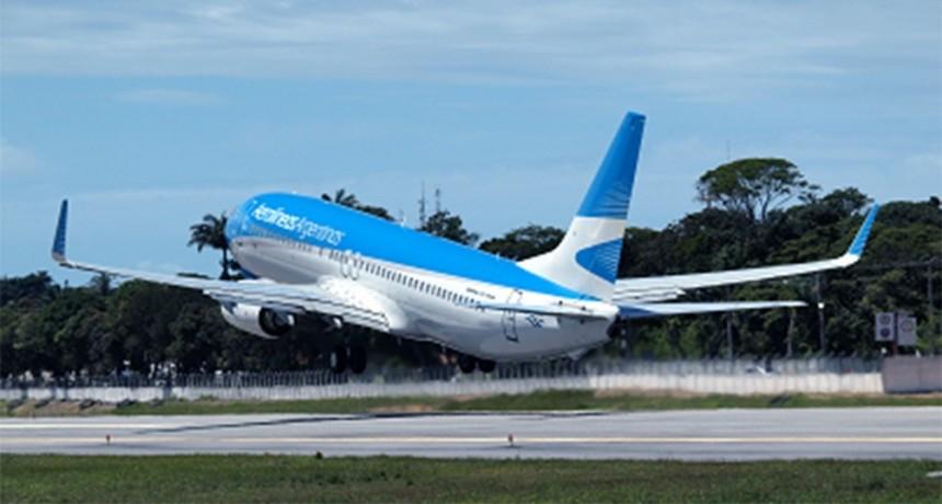 Aerolíneas canceló vuelos a México, Brasil y Chile hasta el 9 de abril