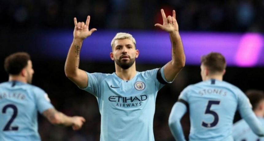 Sergio Agüero se va del Manchester City