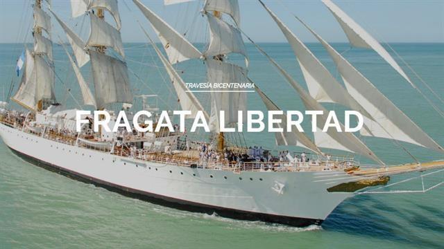 La Fragata Libertad inició su 45° viaje de instrucción.