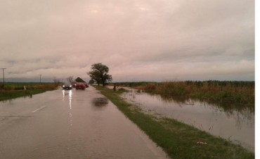 Las lluvias volvieron a complicar a departamentos del interior provincial