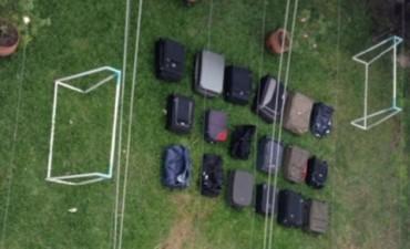 Allanaron la casa de Milagro Sala: encontraron 30 valijas y una máquina de contar dinero