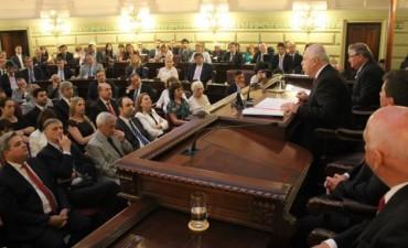 Lifschitz inaugura este domingo el 134° periodo de sesiones ordinarias de la Legislatura