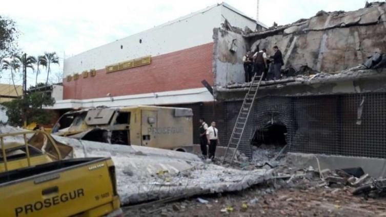 Paraguay: con armas y explosivos, una banda robó 40 millones de dólares de una bóveda