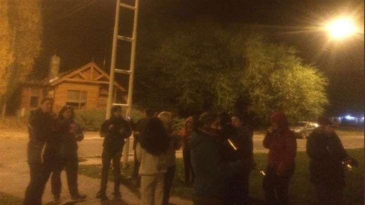 Hubo un cacerolazo frente a la casa de Cristina Kirchner en El Calafate