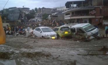 250 muertos y 400 heridos en un deslave en Colombia