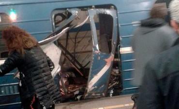 Una explosión en un subte de Rusia dejó al menos diez muertos