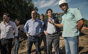 Nación financiará nuevas obras hídricas en la Ciudad de Santa Fe