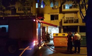 Incendio fatal en un edificio de Rosario