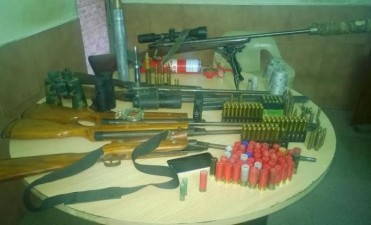 La URI secuestró 263 armas de fuego en el primer trimestre del año