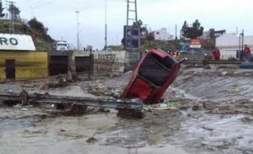 Dos personas fallecieron tras el temporal en Comodoro Rivadavia
