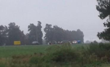 Despistó una camioneta en la Autopista Santa Fe-Rosario