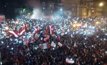 30.000 personas festejaron con todo la llegada de los 110 años de Unión