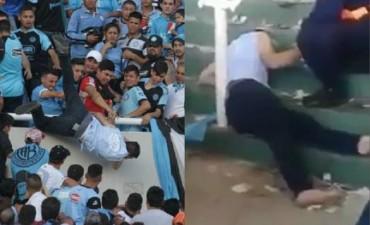 4 detenidos en la causa del hincha arrojado desde la tribuna