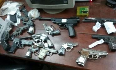 Secuestraron 22 armas de fuego durante el fin de semana largo