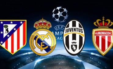 Se conocieron la semifinales de la Champions League