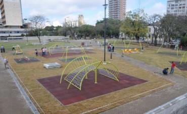 Este sábado inaugura el renovado Parque Alberdi