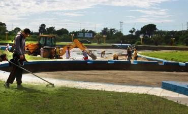 El municipio construirá una pileta olímpica en el Parque Garay