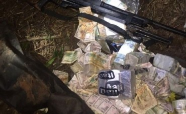 Encontraron parte del botín robado en el golpe de Ciudad del Este