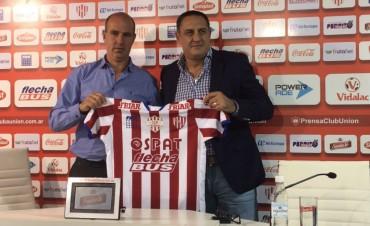 Pablo Marini fue presentado oficialmente como nuevo DT de Unión