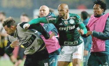 La Conmebol anunció suspensiones contra jugadores de Peñarol y Palmeiras